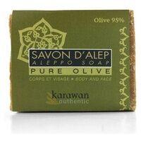 Karawan Authentic Savon d'Alep pure olive, 95% huile d'olive 200 g - Karawan Authentic