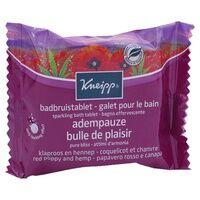 Kneipp Galet pour le Bain - Coquelicot & Chanvre 1 unité - Kneipp