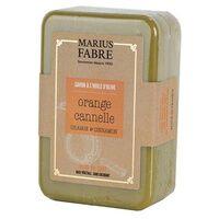 Marius Fabre Savonnette Ecorces d'orange et cannelle à l'huile d'olive 250 g - Marius Fabre