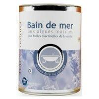 Bio Bretagne Ocean Bain de Mer au Sel de Guérande Lavande 100% naturel 600 g - Bio Bretagne Ocean