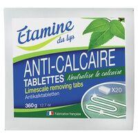 Etamine du Lys Tablettes anti-calcaire 20 unités - Etamine du Lys