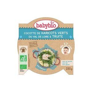 Babybio Menu Cocotte De Haricots Verts Et Truite Bio (dès 12 mois) 230 g - Babybio - Publicité