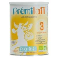 Prémilait Lait de croissance au Bifidus 12 mois à 3 ans sans huile de palme 900 g de poudre - Prémilait