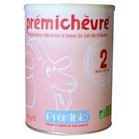 Prémibio Prémichèvre 2eme âge 6 à 12 mois Sans gluten 900 g de poudre - Prémibio