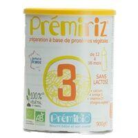 Prémibio Lait infantile prémiRiz croissance 900 g de poudre - Prémibio