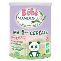 La Mandorle Ma 1ère Céréale dès 4 mois BIO 400 g de poudre - La Mandorle