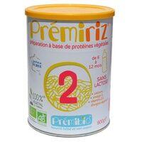 Prémibio Lait infantile prémiRiz 2ème âge 900 g de poudre - Prémibio