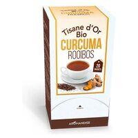 Aromandise Tisane d'or Curcuma rooibos 40 g - Aromandise