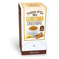 Aromandise Tisane d'or Curcuma gingembre 30 g - Aromandise