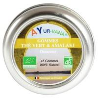 Ayur-Vana Gommes Thé vert & Amlaki Bio 45 g - Ayur-Vana