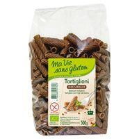 Ma Vie sans Gluten Tortiglioni 100 % sarrasin Bio 500 g - Ma Vie sans Gluten