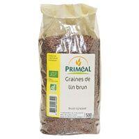 Primeal Graine de lin brun 500 g - Primeal