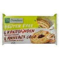 Damhert Anneaux Coco fourrés aux fruits 240 g - Damhert