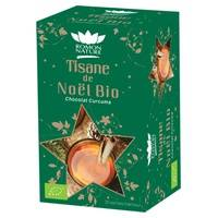 Romon Nature Tisane de Noël Bio Chocolat & Curcuma 20 sachets - Romon Nature