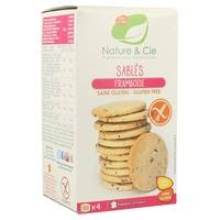 Nature & Cie Biscuits aux framboises sans gluten bio 135 g - Nature & Cie