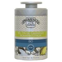 Provence d'Antan Sel Fin de Camargue Romarin Citron boite métal 80 g de poudre - Provence d'Antan