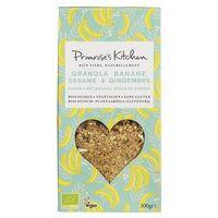 Primrose's Kitchen Granola banane sésame 300 g - Primrose's Kitchen