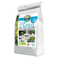 Ecoidees Farine de coco sao tomé 1 kg - Ecoidees