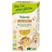 Ma Vie sans Gluten Polenta aux cèpes BIO 300 g - Ma Vie sans Gluten