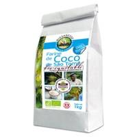 Ecoidees Farine de coco sao tomé 400 g - Ecoidees