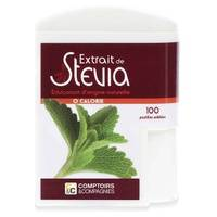 Comptoirs & Compagnies Stévia 100 pastilles - Comptoirs & Compagnies