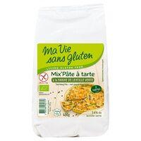 Ma Vie sans Gluten Mix' pâte à tarte farine de lentille verte BIO 400 g - Ma Vie sans Gluten