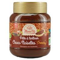Mamie Bio Pâte à tartiner chocolat noisettes crunchy 350 g - Mamie Bio