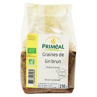 Primeal Graine de lin brun 250 g - Primeal