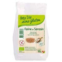 Ma Vie sans Gluten Farine de sarrasin Bio 500 g de poudre - Ma Vie sans Gluten