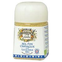 Provence d'Antan Sel fin de Camargue aux Légumes pot végétal biodégradable 90 g de poudre - Provence d'Antan