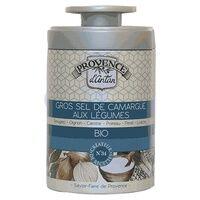 Provence d'Antan Gros sel de Camargue aux légumes bio Boîte métal 90 g - Provence d'Antan