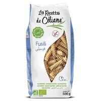 Les Recettes de Celiane Fusilli riz complet BIO 500 g - Les Recettes de Celiane