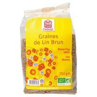 Celnat Graines de lin brun BIO 250 g - Celnat