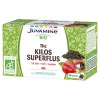 Laboratories Juvamine Thé Kilos Superflus Bio 20 sachets - Laboratories Juvamine