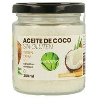 Naturitas Huile de noix de coco biologique sans gluten 200 ml de huile - Naturitas