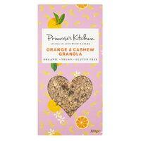Primrose's Kitchen Granola orange & noix de cajou 300 g - Primrose's Kitchen