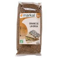 Markal Graine de lin brun 500 g - Markal