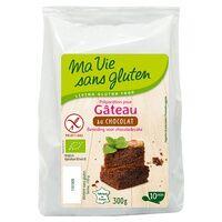 Ma Vie sans Gluten Gâteau au chocolat Bio 300 g - Ma Vie sans Gluten