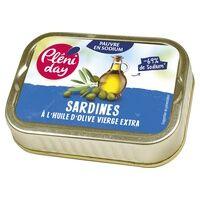 Pleniday Sardines à l'huile d'olive 46 g - Pleniday