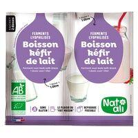 Natali Ferment pour boisson Kéfir de Lait 2 sachets - Natali