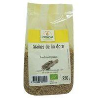 Primeal Graine de lin doré 500 g - Primeal