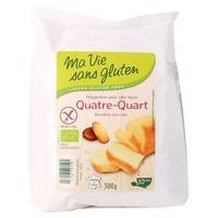 Ma Vie sans Gluten Préparation pour cake façon Quatre Quart 300 g - Ma Vie sans Gluten