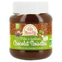 Mamie Bio Pâte à Tartiner Chocolat Noisettes sans gluten 350 g - Mamie Bio