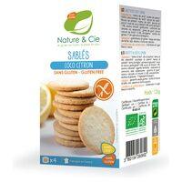 Nature & Cie Biscuits bio à la noix de coco et au citron sans gluten 125 g - Nature & Cie