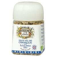 Provence d'Antan Gros sel de Camargue aux légumes bio pot végétal biodégradable 90 g - Provence d'Antan