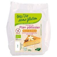 Ma Vie sans Gluten Flan pâtissier au millet et vanille Bio 300 g - Ma Vie sans Gluten