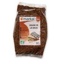 Markal Graine de lin brun 250 g - Markal