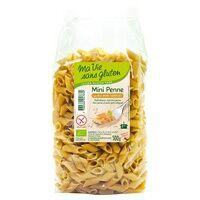 Ma Vie sans Gluten Mini penne au riz demi-complet Bio 500 g - Ma Vie sans Gluten