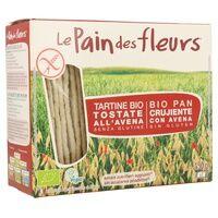 Le Pain des Fleurs Pain aux flocons d'avoine Bio Sans Gluten 150 g - Le Pain des Fleurs
