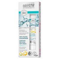 Lavera Basis Sensitiv Contour des Yeux Anti-Rides à la Coenzyme Q10 15 ml de crème - Lavera